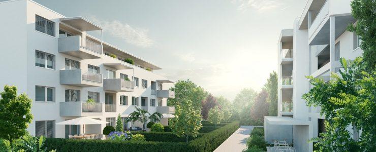 Vermietet – 2-Zimmer Neubau-Mietwohnung in Villach-Landskron/ERSTBEZUG
