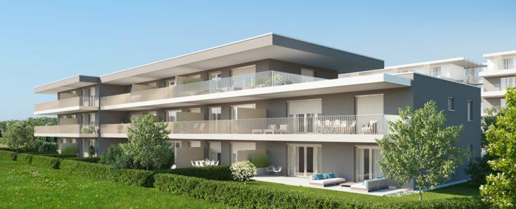VERMIETET! Exklusive 2-Zimmer Neubau-Mietwohnung mit begehbarem Kleiderschrank zum ERSTBEZUG!